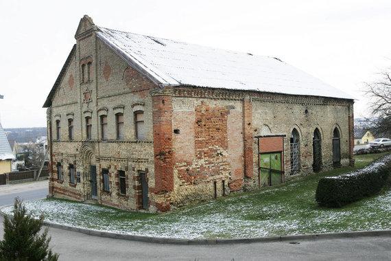 KIC nuotraukos/Alytaus Sinagoga prieš remontą