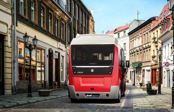 Kastyčio Mačiūno nuotr./Elektriniai autobusai