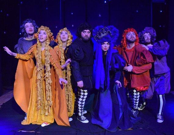 Organizatorių nuotr./Ryškiausia užsienio dramaturgijos interpretacija – Vilniaus jaunimo teatro ARLEKINAS spektaklis HAMLETAS