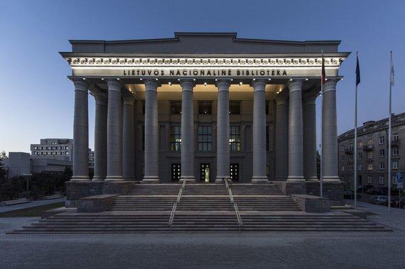 Leono Garbačiausko nuotr./Nacionalinė Martyno Mažvydo biblioteka