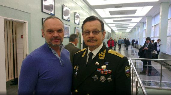 Asmeninio archyvo nuotrauka/Dešinėje – Piotras Premjakas