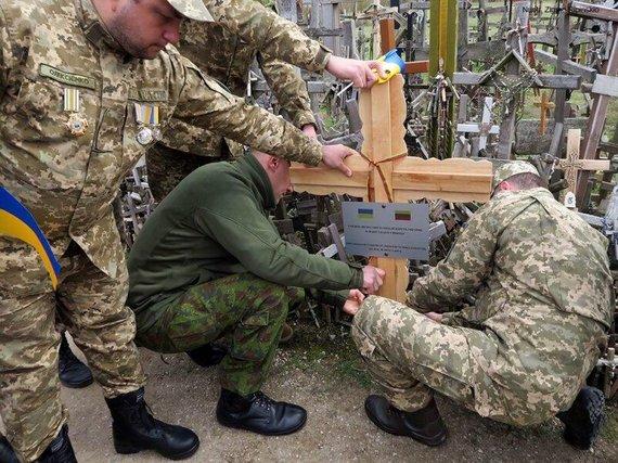 KRC nuotr./UKR kryžius kalne