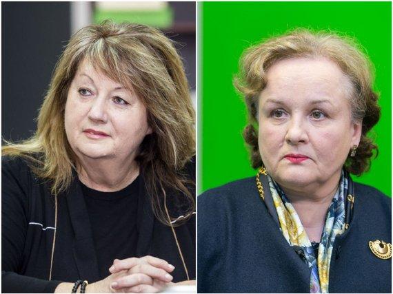 15min nuotr./Vilija Blinkevičiūtė ir Laima Liucija Andrikienė