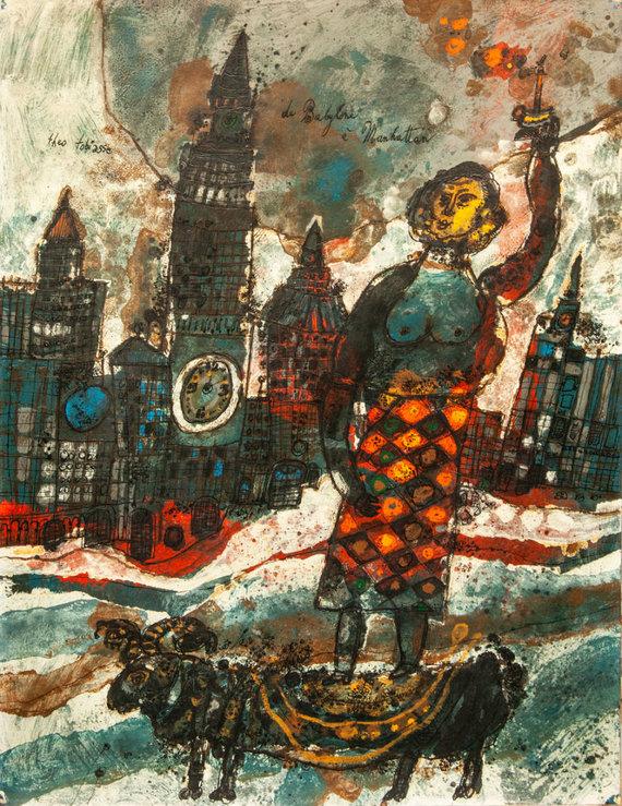 """Theo Tobiasse """"De Babylone a Manhattan"""""""