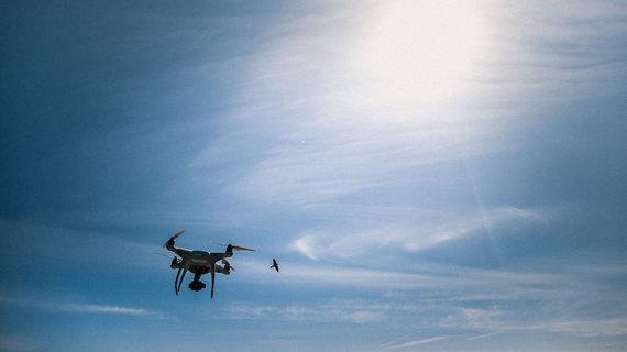 Projekto partnerių nuotr./Dronai