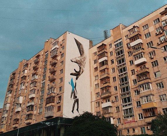 V.Stonytės nuotr./Gatvės menas