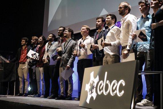 KTU nuotr./EBEC 2019 inžinierių varžybų finalas