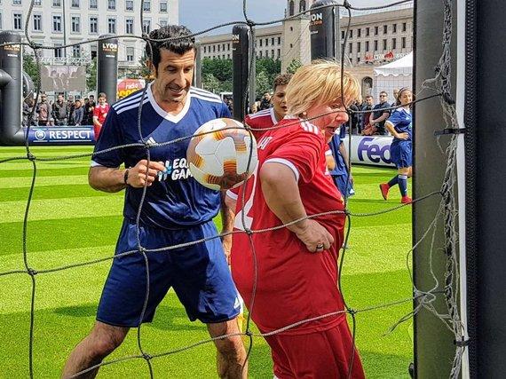 Vytauto Karsoko nuotr./2019 metai, Prancūzija, Lionas, Equal Game rungtynių momentas