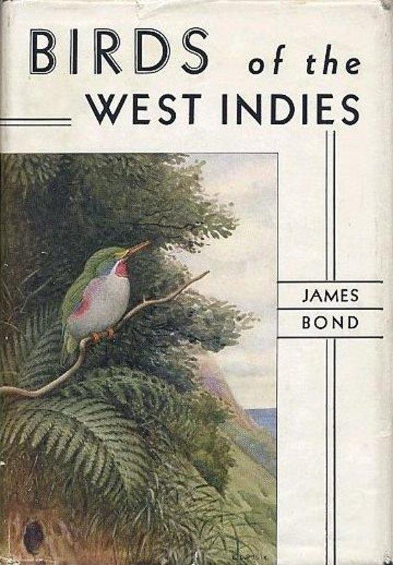 """Jameso Bondo knyga/""""Vest Indijos paukščiai"""", 1936 m."""