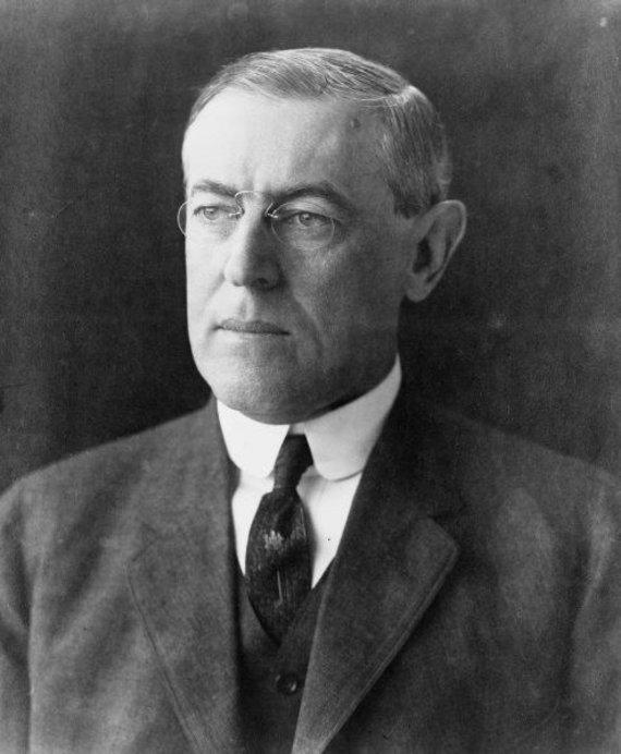 World History Archive/TopFoto nuotr./Jungtinių Amerikos Valstijų prezidentas Woodrow Wilsonas