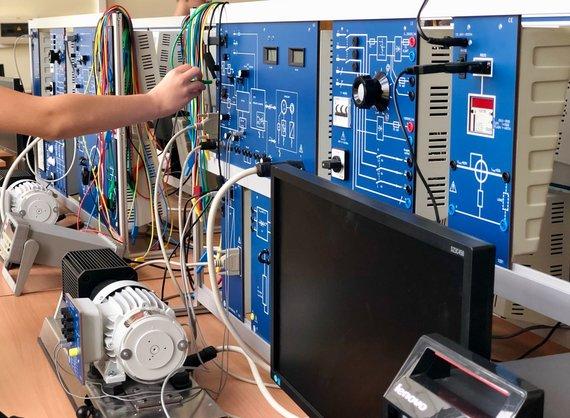 Ekskursija VGTU Elektronikos fakultete