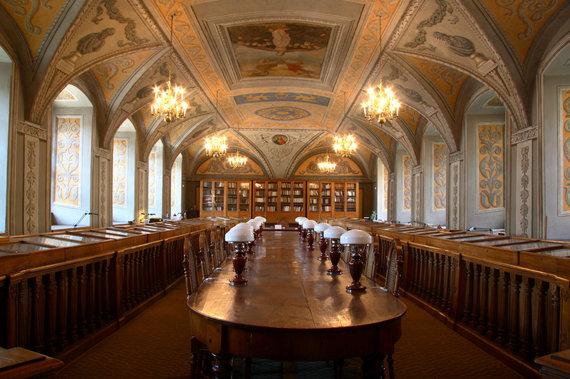 Vilniaus universiteto nuotr./Vilniaus universiteto P.Smuglevičiaus salė