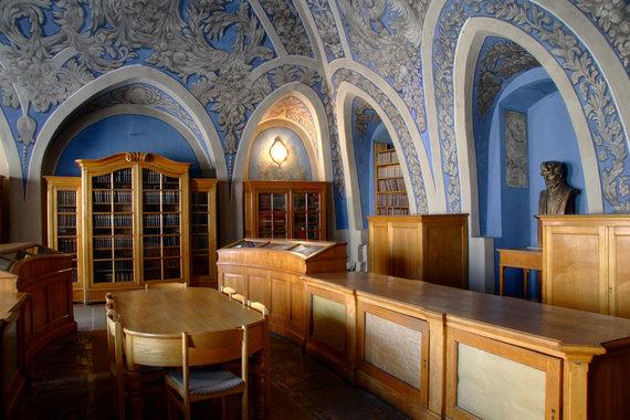 Vilniaus universiteto nuotr./Vilniaus universiteto J.Lelevelio salė