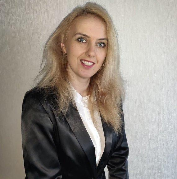 """asmeninio albumo nuotr./""""Ignitis grupės"""" Analitikų komandos vadovė Monika Tigh Navard"""