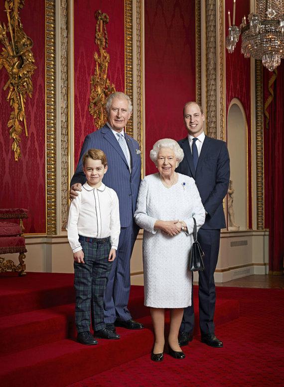 """Scanpix"" nuotr./Britų karališkoji šeima"