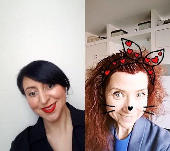 Asmeninio albumo nuotr./Rūta Morozovienė ir Redita Dominaitytė