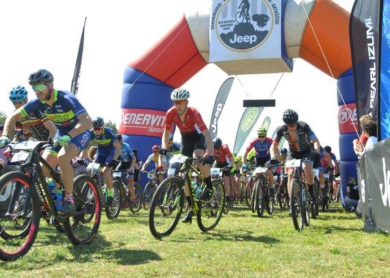 Partnerio nuotr./MTB dviratininkų laukia karštas sekmadienis