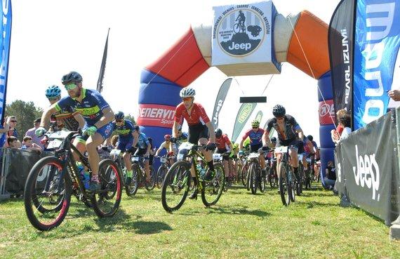"""Partnerio nuotr./""""Jeep MTB dviračių maratonų taurė"""" ir šiemet taps Žagarės vyšnių festivalio dalimi"""