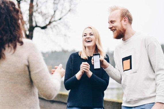 Partnerio nuotr./Nauja programėlė kelionę pavers žaidimu: Kaunas-Birštonas taip dar nevažiavote