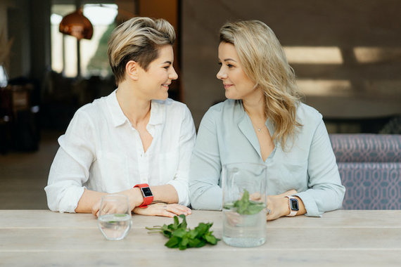 Odeta Bložienė and Beata Nicholson