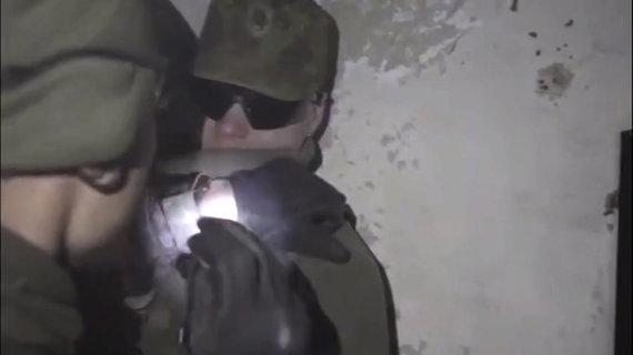 Stop kadras iš vaizdo įrašo/Vaizdas iš karinių mokymų