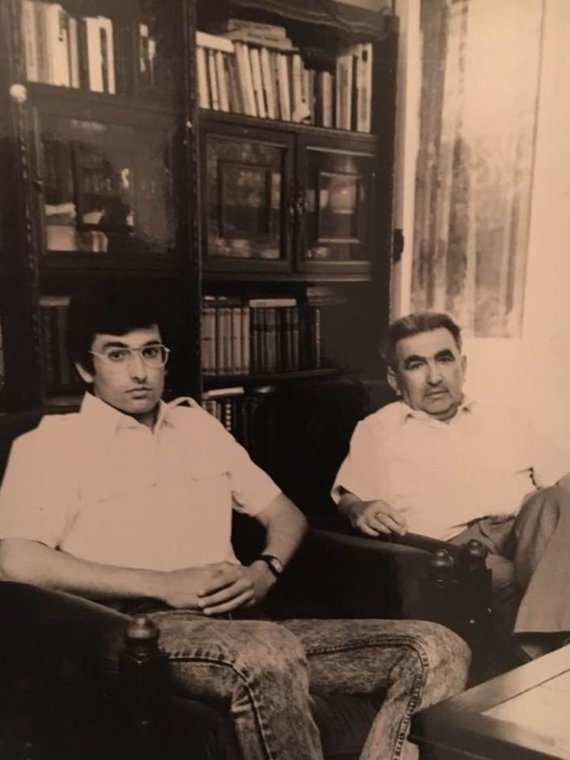 Asmeninio archyvo nuotr./Tėvas ir sūnus