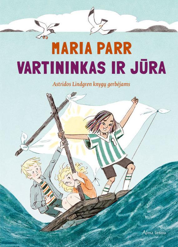 """Knygos viršelis/ M.Parr """"Vartininkas ir jūra"""""""