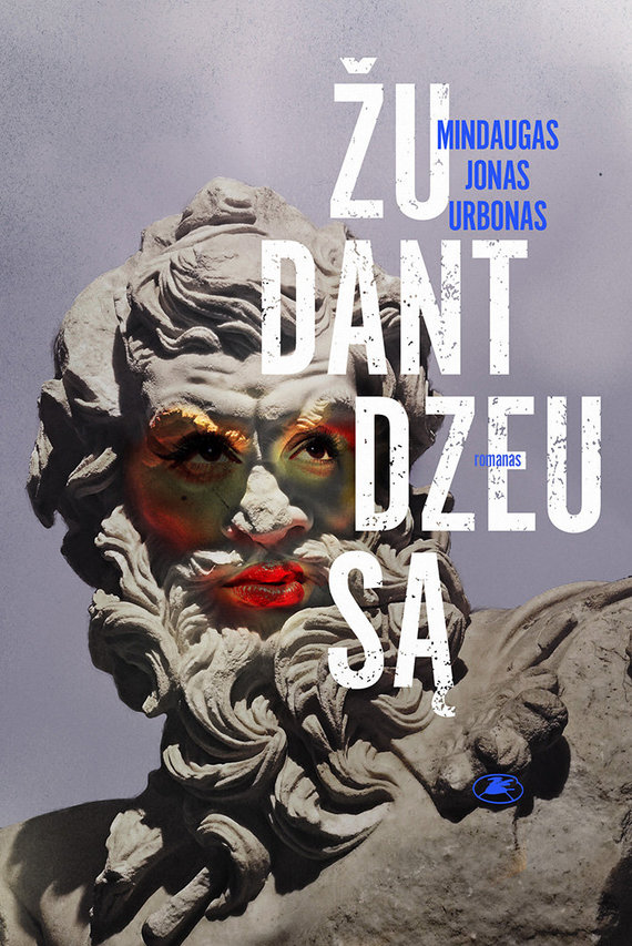 Knygos viršelis/Žudant Dzeusą
