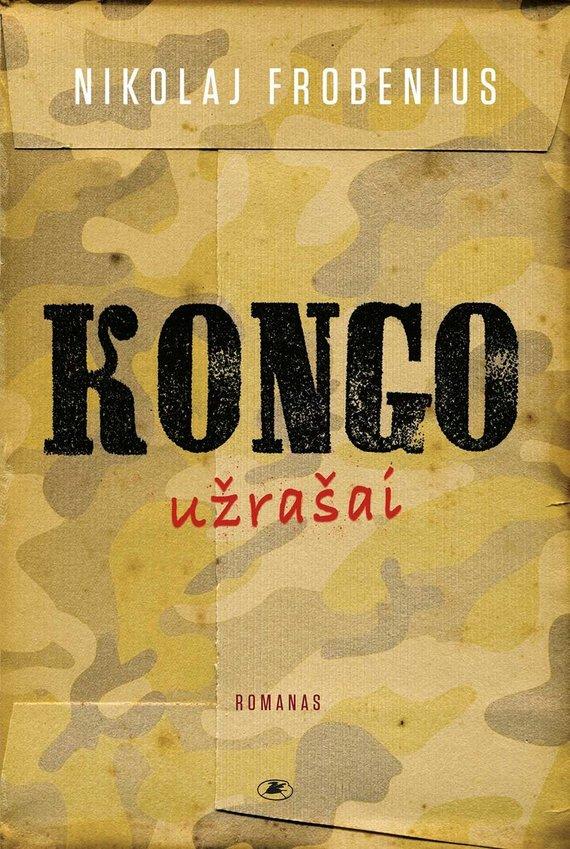 Knygos viršelis/Kongo užrašai