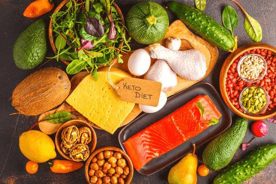 Shutterstock nuotr./Keto dieta