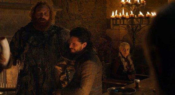 "HBO nuotr./Akimirka iš serialo ""Sostų karai"""
