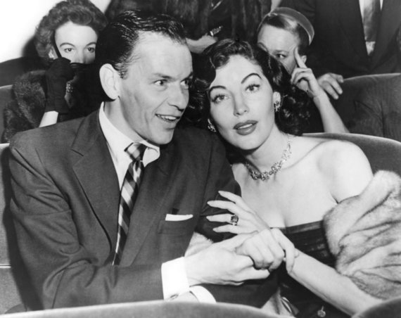 """Scanpix"" nuotr./Frankas Sinatra ir Ava Gardner"