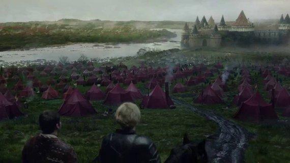 """Stopkadras/Serialo """"Sostų karai"""" Riverano pilis ir Catelyn Stark vaikystės namai"""