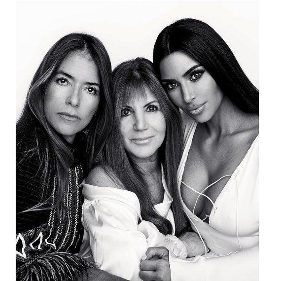 """Instagram"" nuotr./Laura Wasser ir Kim Kardashian"
