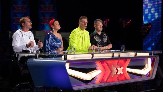 """TV3 nuotr./""""X faktoriaus"""" teisėjai"""