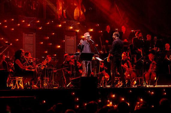Organizatorių nuotr./Andriaus Mamontovo koncerto akimirkos