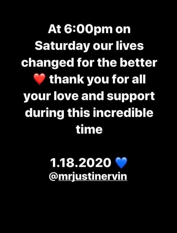 """""""Instagram"""" nuotr./Ashley Graham žinutė socialiniame tinkle"""