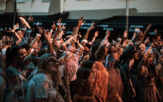 "Beatričės Mikelionytės nuotr. /""Colours of Bubbles"" koncerto akimirka"