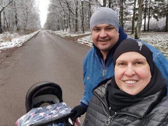 Asmeninio albumo nuotr./Laima Tamulytė-Stončė ir Gediminas Stončius