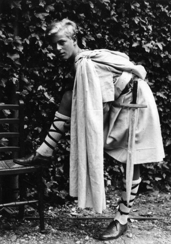 Vida Press nuotr./Princas Philipas vaikystėje