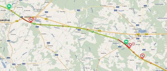 Eismas link Klaipėdos