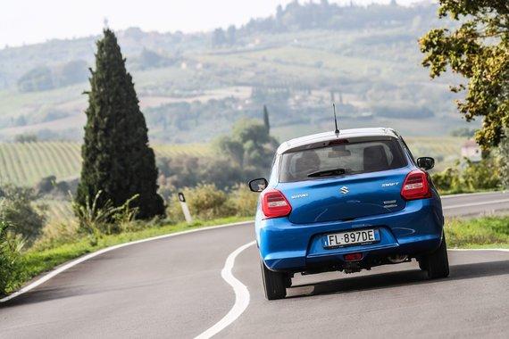 Gamintojų nuotr./Suzuki Swift Hybrid AllGrip