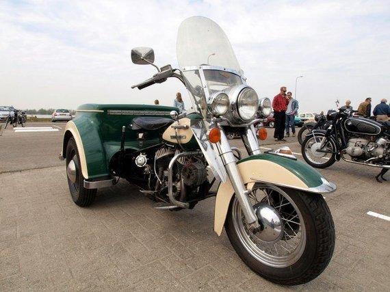 Wikimedia nuotr./Harley-Davidson Servi-Car buvo sukurtas kaip pigi alternatyva automobiliams