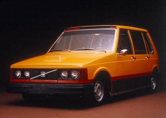 Volvo nuotr./Volvo City Taxi pasižymėjo tuometiniu Volvo dizainu