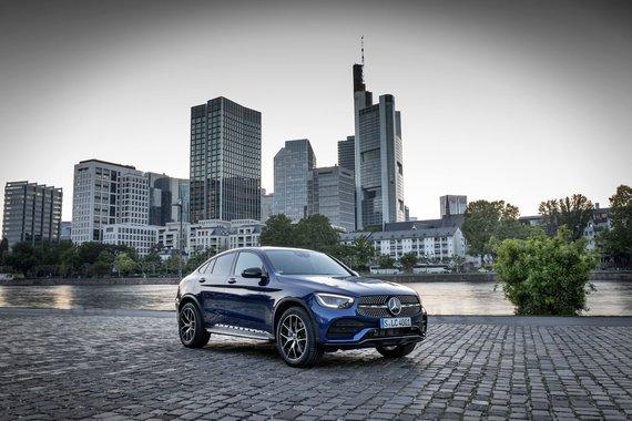 """""""Daimler"""" koncerno nuotr./""""Mercedes-Benz GLC Coupe"""""""