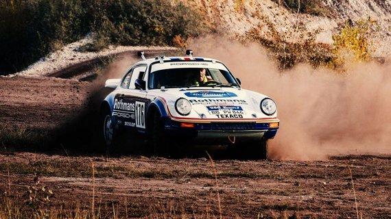 1984 metais toks Porsche 911 laimėjo Dakaro ralį