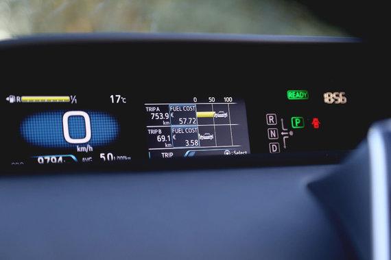 Autoplius.lt nuotr./Automobilio prietaisų skydelis
