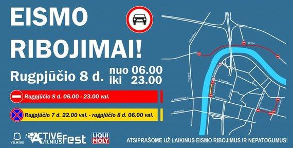 Vilniaus savivaldybės iliustr./Eismo pakeitimai Vilniuje