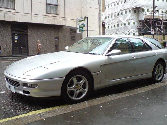 Wikimedia Commons nuotr./Ferrari 456 GT Venice atitekęs kolekcionieriui Jungtinėje Karalystėje