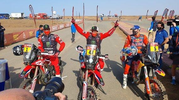 Žilvino Pekarsko/15min nuotr./2021 m. Dakaro finišas
